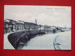 "ITALIE - VERONA - "" RIGASTE S. ZENO "" - + ENVOI EN FRANCHISE MILITAIRE : TRESOR ET POSTES ... - Verona"