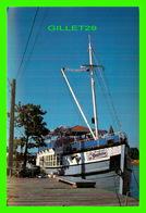 """SHIP, BATEAUX - """" LA GOELETTE """" LE BATEAU RESTAURANT DE ST-JEAN/ RICHELIEU - - Commerce"""
