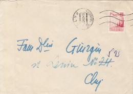 77509- DAM STAMP ON COVER, 1969, ROMANIA - 1948-.... Républiques