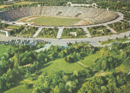 77546- BUCHAREST LIA MANOLIU STADIUM, ARCHITECTURE, BUSS, CAR - Stades