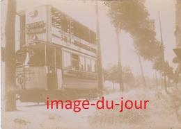 Photo Ancienne  TRAMWAY THOMSON HOUSTON ST MANDE VINCENNES NOGENT PARIS MÉTROPOLITAIN - Trains