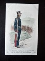 Paris Hergestellt Frankreich Ecole D'Application De L'Artillerie Et Du Genie De Fontainneblea  Ca. 1910 ? Sammlungsaufl. - Uniformen