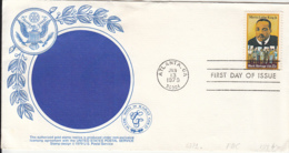 7206FM- MARTIN LUTHER KING, FAMOUS PEOPLE, SPECIAL COVER, OBLIT FDC, 1979, USA - Martin Luther King