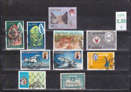 Bahrain  -  Lote  10  Sellos Diferentes  - 3/1337 - Bahreïn (1965-...)