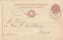 Accettura. 1900. Annullo Grande Cerchio ACCETTURA, Su Cartolina Postale, Con Testo - 1878-00 Umberto I