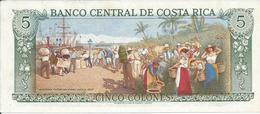COSTA RICA   5  Colones   1992   -- UNC -- - Costa Rica