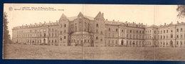 Arlon. Carte 3 Volets. Maison St. François-Xavier. Bâtiment Des Retraites Et Des Oeuvres. Chevet église. Noviciat. 1932 - Arlon