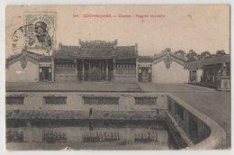 8701 Vietnam Cochinchine Cholon Pagode Stamping Indo-Chine - Vietnam