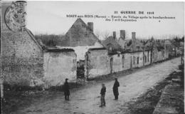51-2- SOIZY -AUX-BOIS - RUINES - France