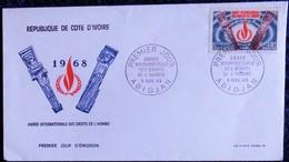 République De Cote D'Ivoire - Premier Jour D'émission - 1968 . - Ivory Coast (1960-...)