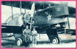 Militaire - Avion Goliath Avec Aviateurs - Aviateur - Aviation - Photo EYRAUD - 1932 - 1919-1938: Entre Guerres
