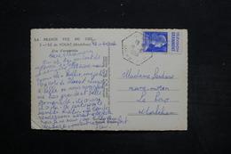 FRANCE - Type Muller Avec Pub Sur Carte Postale De L 'île De Houat En 1956 - L 25628 - Advertising
