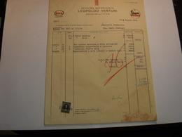 MONTELUPO  --FIRENZE  --- FIAT   LEOPOLDO VENTURI  -- VESPA SERVIZIO - Italia