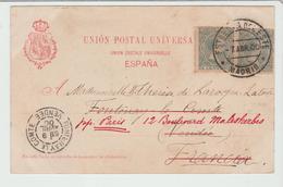 """ESPAGNE """" ESTAFETA  DEL ESTE / CPA De 1900 Pour La France TB - Lettres & Documents"""