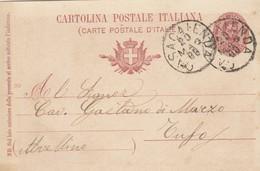 Casacalenda. 1900. Annullo Grande Cerchio CASACALENDA, Su Cartolina Postale, Con Testo - 1878-00 Umberto I