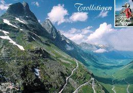 1 AK Norwegen * Der Trollstigen - Eine Der Bekanntesten Touristen-Strecken In Norwegen - Romsdal Valley * - Norwegen