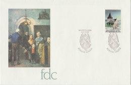 ALAND 1989 FDC Church.BARGAIN.!! - Aland