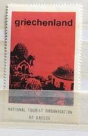 TURISMO GRECIA GRIECHENLAND  NATIONAL TOURIST ORGANISATION OF GREECE - Erinnophilie