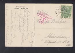 KuK AK Salzkammergut 1915 Gmünden Überprüft F - 1850-1918 Imperium