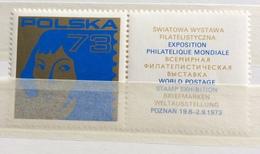 POLSKA 73 EXPOSITION PHILATELIQUE MONDIALE  POZNAN 1973 - Erinnophilie