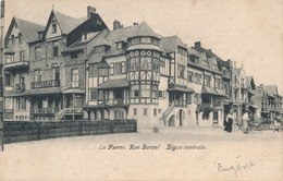 CPA - Belgique - De Panne - La Panne - Rue Bonzel - Digue Centrale - De Panne
