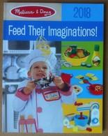 Melissa And Doug - Feed Their Imagination - Catalogo Catalogue 2018 - Altre Collezioni