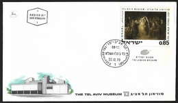 1970 - ISRAEL - FDC + Michel 492 [Josef Israels] + TEL AVIV-YAFO - FDC
