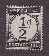 FIDJI 1918 TIMBRE TAXE N° 6 Neuf *(YT) 1/2P. NOIR PHOTOS R/V - Fidji (1970-...)