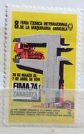 ZARAGOZA  FIMA 74  8 FIERA INTERNAZIONALE DELLA MACCHINA AGRICOLA - Erinnophilie