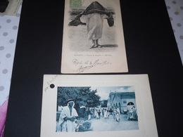 Relizhane (le Marché1928) Bizerte (femme De Qualité1904) - Nigeria