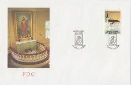ALAND 1990 FDC Church.BARGAIN.!! - Aland