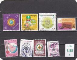 Arabia Saudita  -  Lote  8  Sellos Diferentes  - 3/1353 - Arabia Saudita