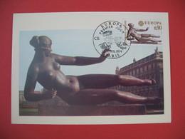 Carte Maximum 1974 N° 1790  Europa - Cartes-Maximum