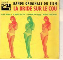 Disque Bande Original Du Film - La Bride Sur Le Cou - La B.B. Bamba - Barclay 72-1961 Avec Languette - Filmmusik