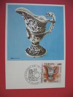 Carte Maximum 1976 N° 1877  Cachet Strasbourg - Cartes-Maximum