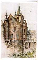 Deinze Bachte, Kasteel Ooidonk, Centrale Toren En Ophaalbrug (pk55664) - Deinze