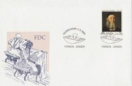 ALAND 1992 FDC Frans Peter Von Knorring.BARGAIN.!! - Aland