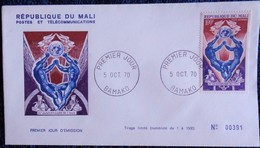 République Du MALI - Enveloppe Premier Jour D'Émission - 1970 . - Mali (1959-...)