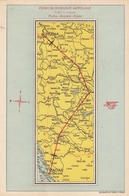 CSA Ceskoslovenske Aerolinie Flight Praha - Zagreb - Zadar Zemunik MAP Airline Issue Postcard - 1946-....: Modern Tijdperk