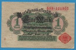 DEUTSCHES REICH 1 Mark Reichsschuldenverwaltung12.08.1914No 559.121903 P# 51 - [ 2] 1871-1918 : Empire Allemand