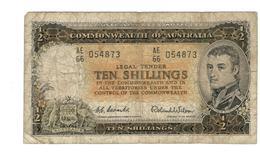 10 Shillings 1954, AE 66 - 1913-24 Commonwealth Of Australia