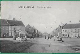 ! - Belgique - Bourg-Léopold - Rue De La Station - Leopoldsburg