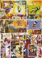 Rwanda,  Domfil # 208-209,  Issued 2005, 11 Sheets Of 4 + 7 S/S Of 7,  MNH,  Cat $ 12.00,  Disney - Rwanda
