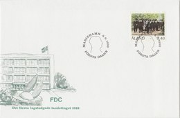 ALAND 1992 FDC Landstinget 1922.BARGAIN.!! - Aland
