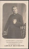 GEBOREN TE NIEUWENHOVE 1856+1922 EERW.HEER ADOLF ROOSENS. - Religion & Esotericism