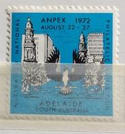 ADELAIDE  ESPOSIZIONE FILATELICA AUSTRALIANA   AMPEX 1972 - Erinnofilia