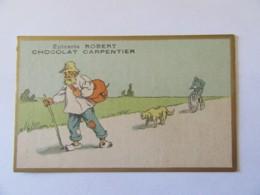 Chromo Epicerie Robert / Chocolat Carpentier à Tours - Chocolat
