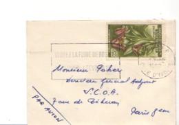 COTE D'IVOIRE : 1962 - Lettre Pour La France - Fleur - Côte D'Ivoire (1960-...)