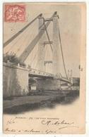 30 - ARAMON - Le Pont Suspendu - Lacour 584 - 1904 - Aramon