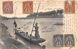 PIE.Tgc-19-1914 :   DAHOMEY. BENIN. EN VOYAGE DANS L'OUEME - Benin
